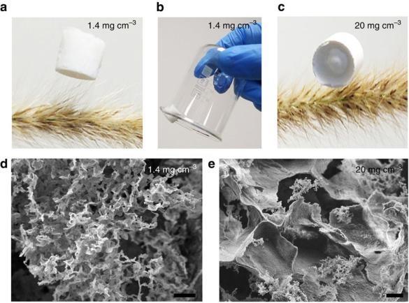 """澳大利亚迪肯大学的研究人员与正位于费城大学、密苏里大学的迪肯大学科学家一同合作开发出了一款""""纳米片""""。它可以像海绵一样清除油渍。每一片纳米片都是由一些含有微型小洞、纳米级厚度的薄层组成(厚度仅为十亿分之一米),这些纳米片的大小可以扩大到网球场面积的5.5倍。  """"纳米片中的细孔能够吸收表面层的油以及有机溶剂,吸收质量最多可以是本身重量的33倍。""""一位研究人员这样说道。  团队早于2013年开发出了一款早期模型,那时原型还是粉状物质并且没有任何实际用途。"""