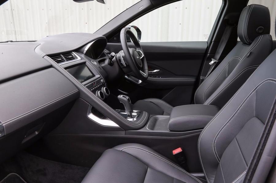 捷豹电气化首款车型 Jaguar E-Pace