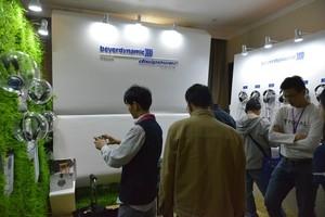 2015广州音响展 拜亚多款高端耳机抢眼