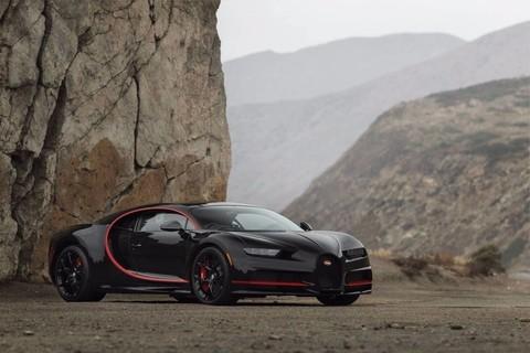 只限量五百台 2018 Bugatti chiron
