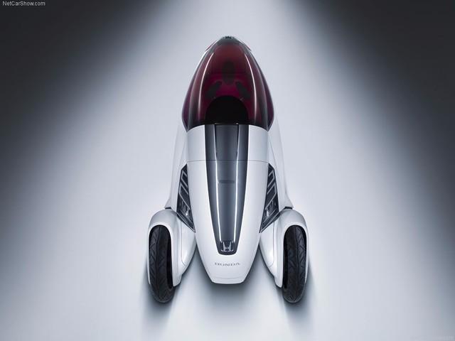 零排放 Honda 3R-C本田概念三轮电动车