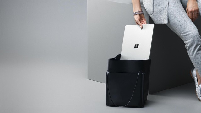 微软拍的好看 Surface Laptop官方图集