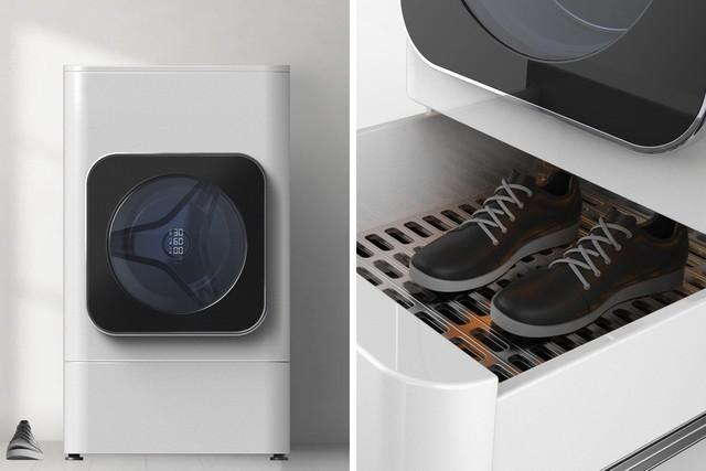 衣服鞋子一起洗 这个洗衣机太神奇了