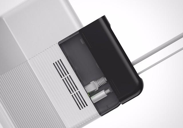 电源接口和网络接口也被彻底隐藏了起来。