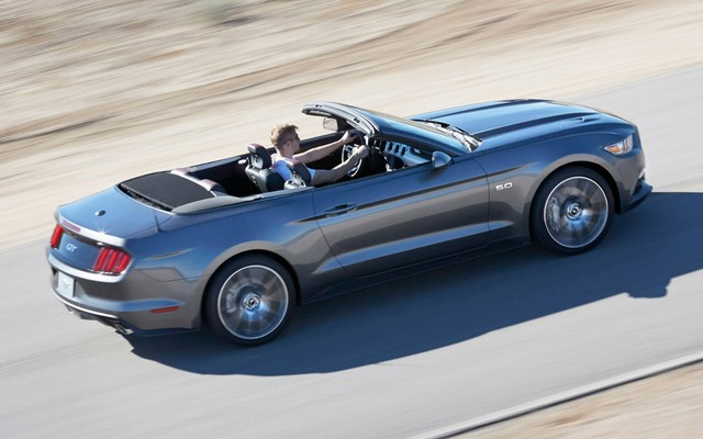 Pony Car高端版本 2013款福特野马GT敞篷