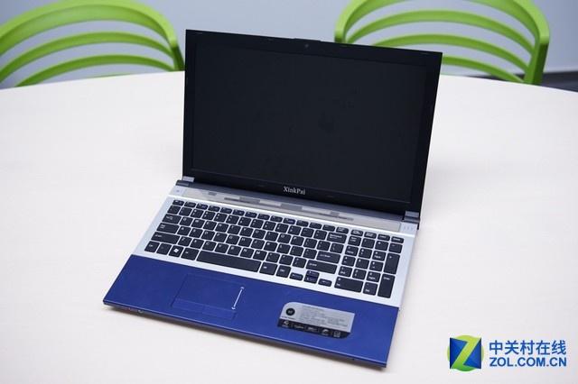 前面已经说到这台XinkPai笔记本电脑的外观与之前Acer
