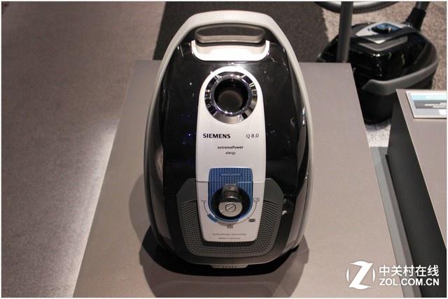 西门子携吸尘器及咖啡机新品亮相IFA2017