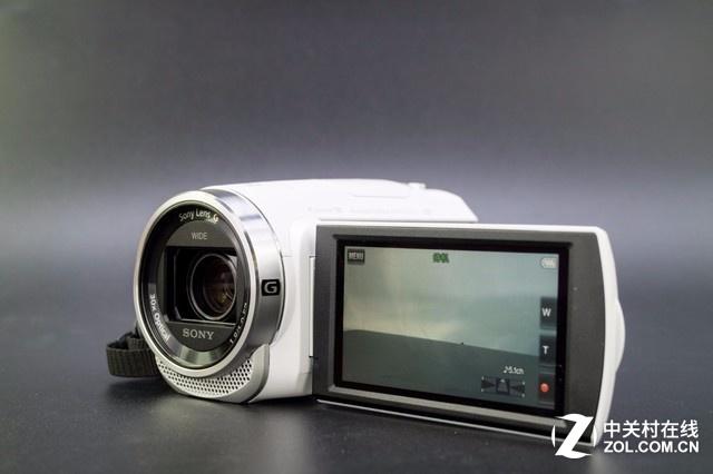 居家旅行神器 索尼CX680摄像机外观图
