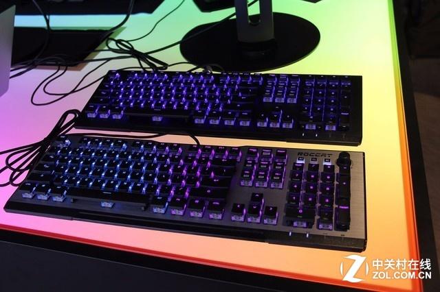 这把键盘不一般 台北电脑展冰豹新品亮相