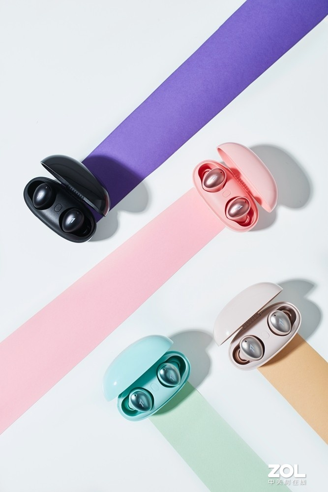 适合夏季的时尚耳机 1MORE新时尚豆耳机美图